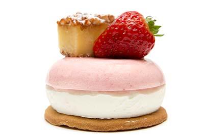 Pastel de Fresa - nata